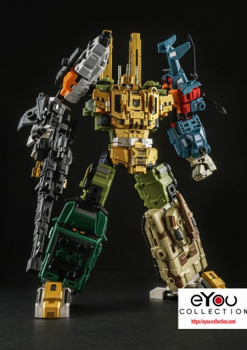 Transformer Toy Iron Factory IF-EX24X War Giant Catastrophe Bruticus TF2000 Color Scheme Version Limited