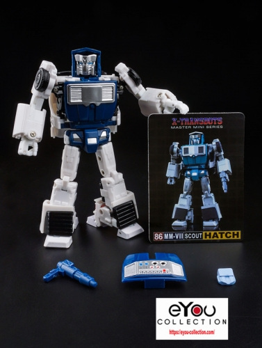 Transformer XTransbots X-Transbots XTB MM-VII MMVII MM-7 MM7 Hatch Tailgate Reissue Cartoon Comic Version