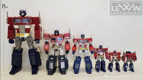 Ship By Express to USA@!Lewin Resources Lewin-01 Lewin01 MP-10 MP10 Optimus Prime Oversized 71cm with LED